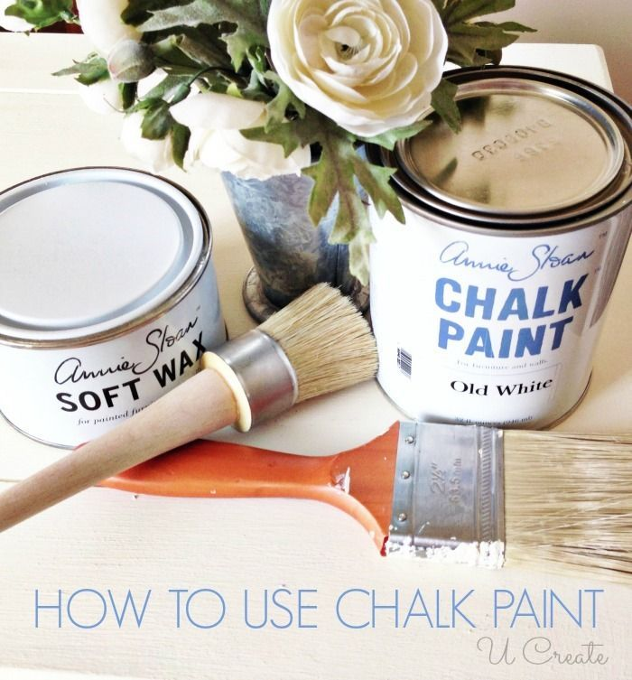 How to use chalk paint - tips and tricks!