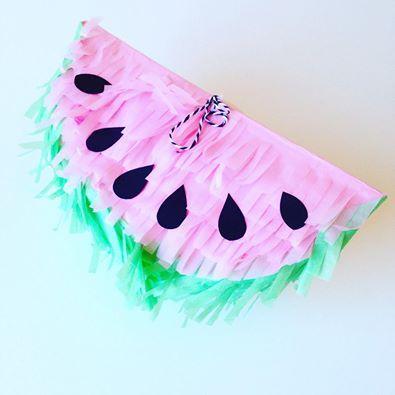 otra fruta piñatizada... Piñata sandia pink https://www.facebook.com/ppinatas/
