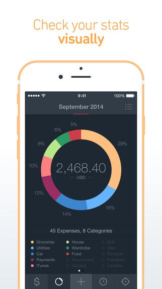 Saver 2 – Money Manager. Track your Personal Finance, Income, Expense, Bills & Budget alex Solonsky 제작 가계부