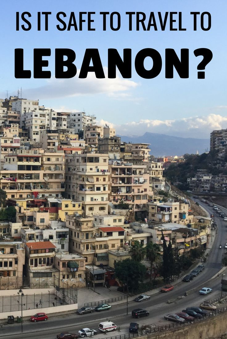 Is it safe to travel to Lebanon? With a practically non-existent crime rate, Lebanon is one of the safest countries in the Middle East