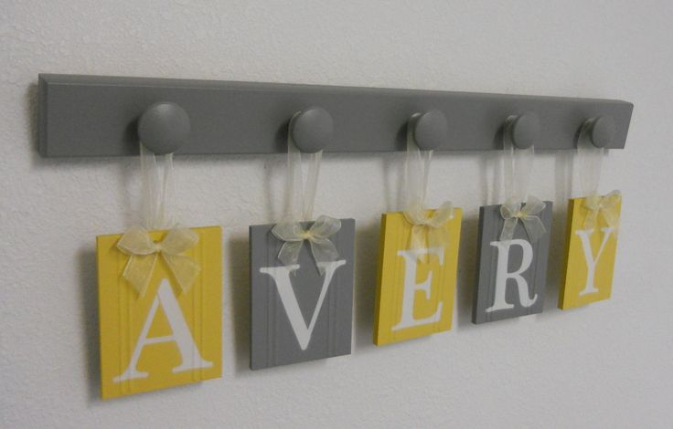 love this idea for nursery decoration