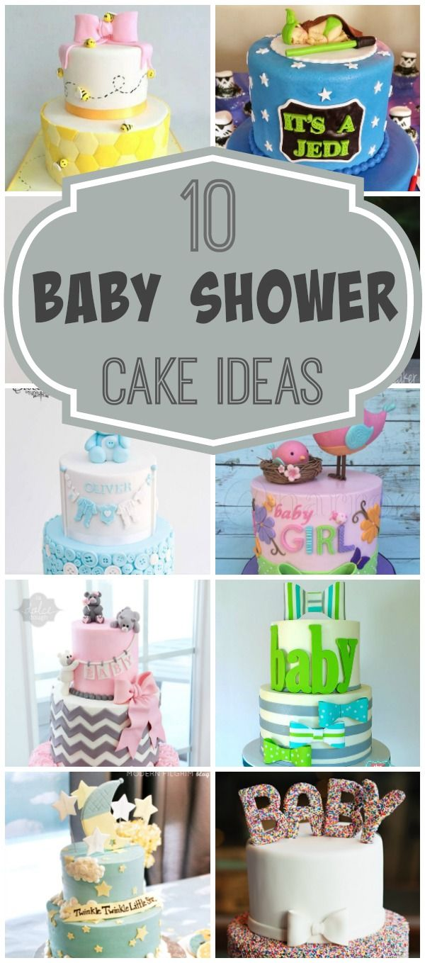 inspirational baby shower invitation wording%0A    Baby Shower Cakes via Pretty My Party