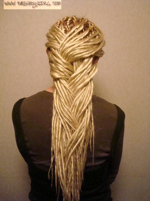 how to make natural hair diy cornrow low bun : fake dreads...look much neater but faking it is kind of anti-dread ...