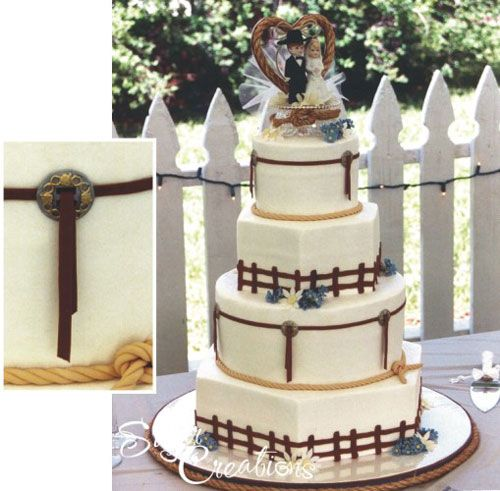 Rustic Wedding Cake Ideas: 1000+ Images About Western Wedding Cake Ideas On Pinterest