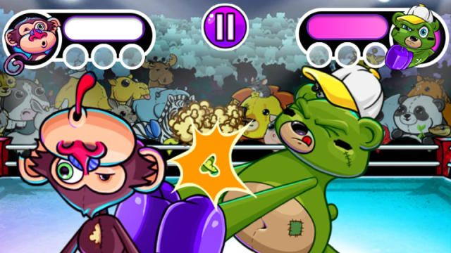 What do lobsters, penguins, bears and baboons have in common? You can brawl with them all in Babe and Kenzies newest online action game, Punchy Face! In the Game Shakers brawling game, Punchy Face, you can choose a bear, a baboon, a penguin or a lobster to fight in the ring. Next, pick your opponent and skill level, and get ready to rumble in this free action game! Play Game Shakers Punchy Face and other free online games on nick.com. How to Play: Use the left and right arrow keys to punch…