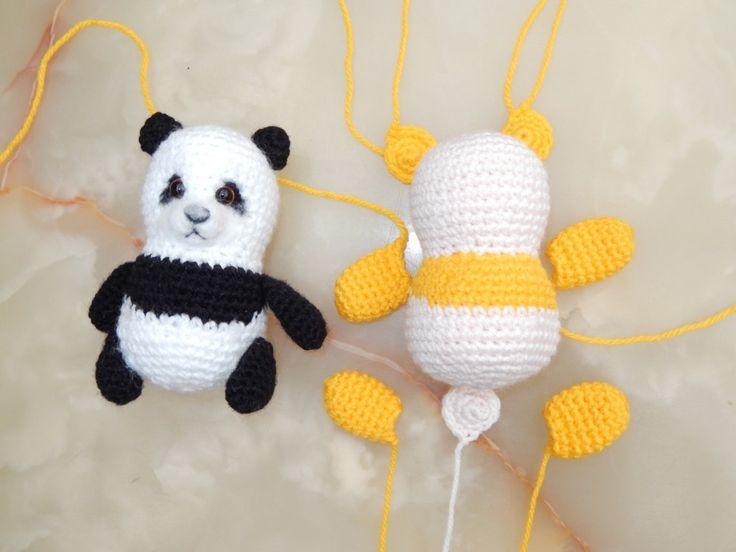 Amigurumi Oso Panda Patron : Mejores imágenes de osos amigurumis en muñecos de