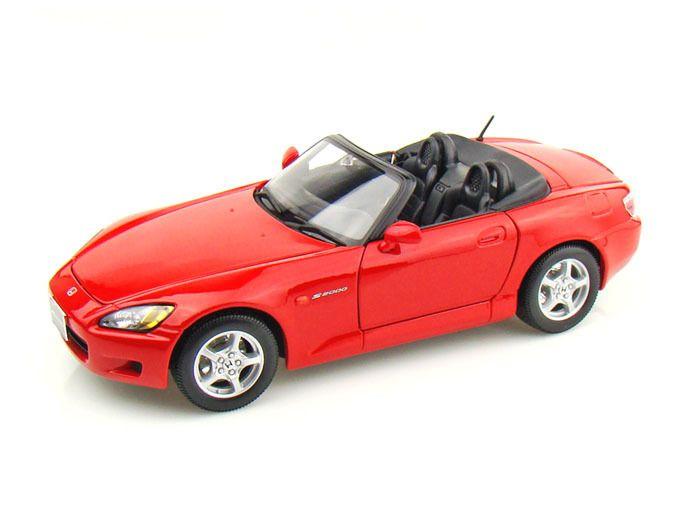 Maisto Special Edition - Honda S2000 Model Car 1:18 - Red (31879)  Manufacturer: Maisto Enarxis Code: 018067 #toys #Maisto #miniature #cars #Honda