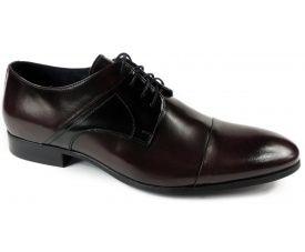 Półbuty 0290872M http://www.intershoe.com.pl/polbuty-0290872m Bordowo - czarne buty dla osób z wyczuciem stylu.