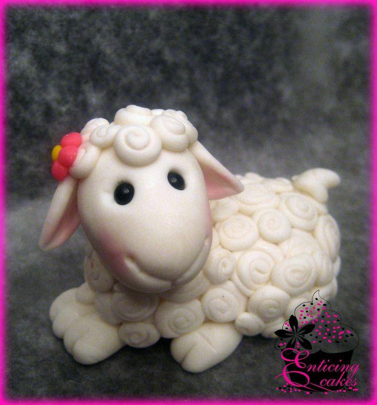 Lil Lamb Cake Topper #easter