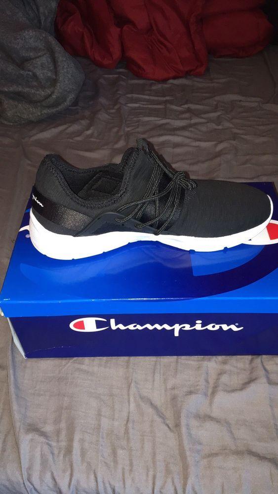 5d3b48e6b17f8 Womens Black Champion Foam Shoes 9 1 2  fashion  clothing  shoes   accessories  womensshoes  athleticshoes (ebay link)