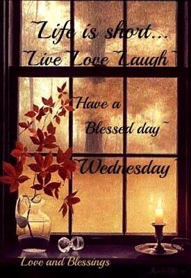 Have a blessed Wednesday! ❤️