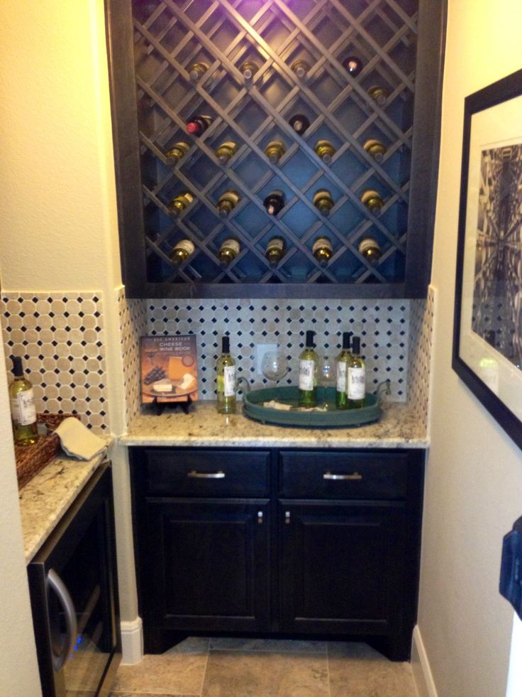 33 best future wine closet images on pinterest wine for Turn closet into wine cellar