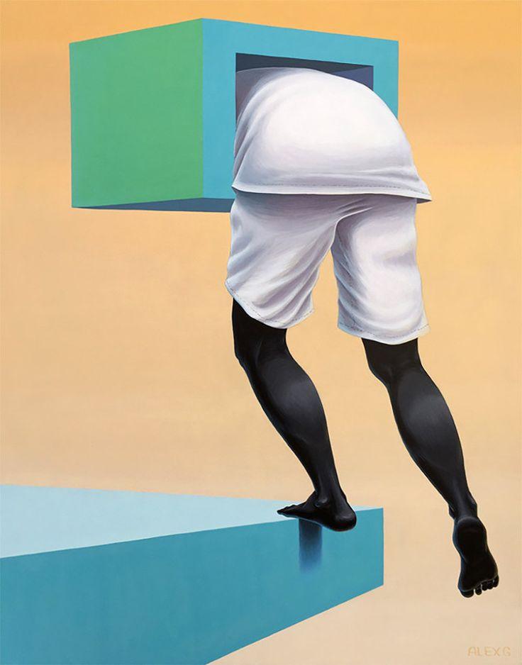 Surreal Artworks by Alex G Paradise | Inspiration Grid | Design Inspiration