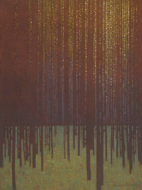 In the Pine Forest ~by David Grossman