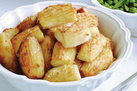 Garnitura pentru masa de Craciun - Cartofi crocanti - Garnituri