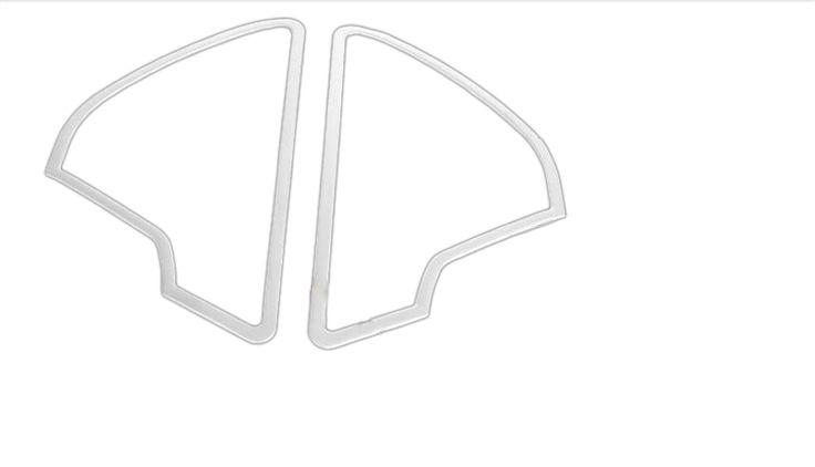 2012-2015 Interior Front Door Small Speaker Cover Trim For Audi A6 C7 #Affiliate