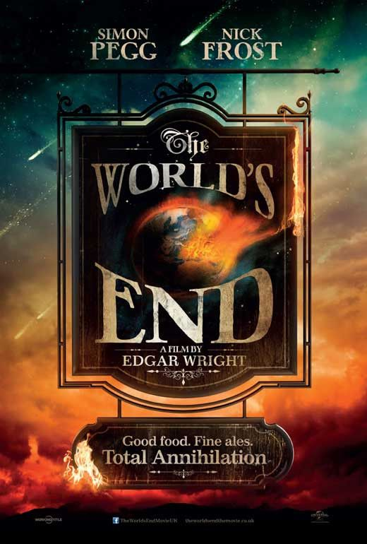 The World's End (UK) 27x40 Movie Poster (2013)