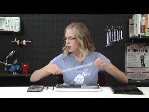How To: Replace a Macbook Unibody (A1342) Display Assembly