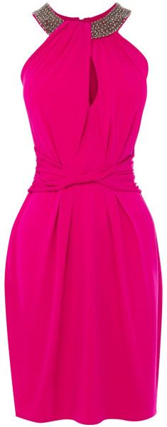 COAST ENGLAND Eva Halter Dress - Lyst
