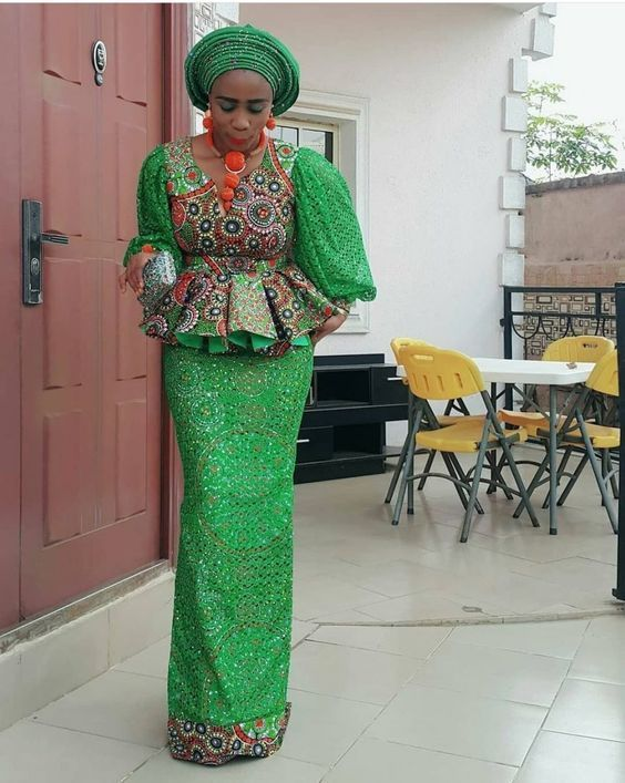Latest Asoebi Styles Collection 2020 Designs You Need See 13