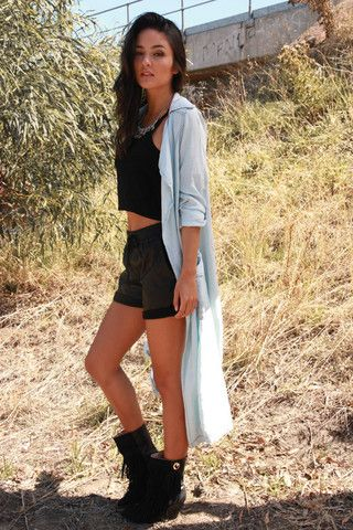 Gone For Days Chambray Trench by Wilde Heart the Label at Midsummer Eve