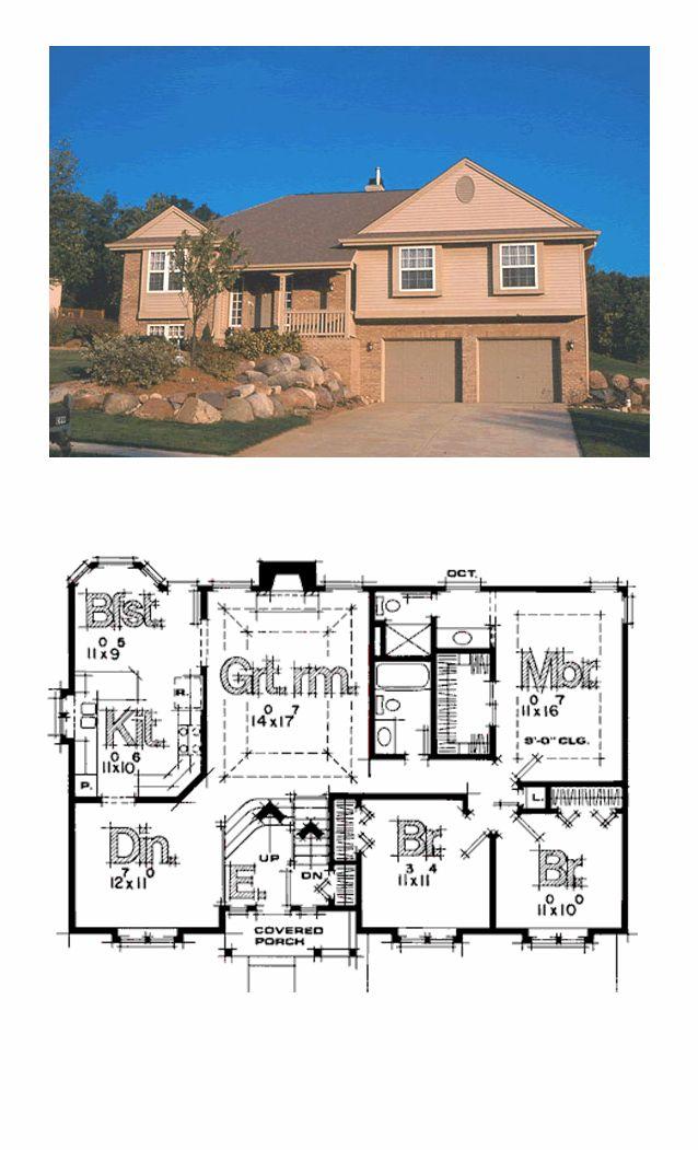 16 best split level house plans images on pinterest cool for Www coolhouseplans com
