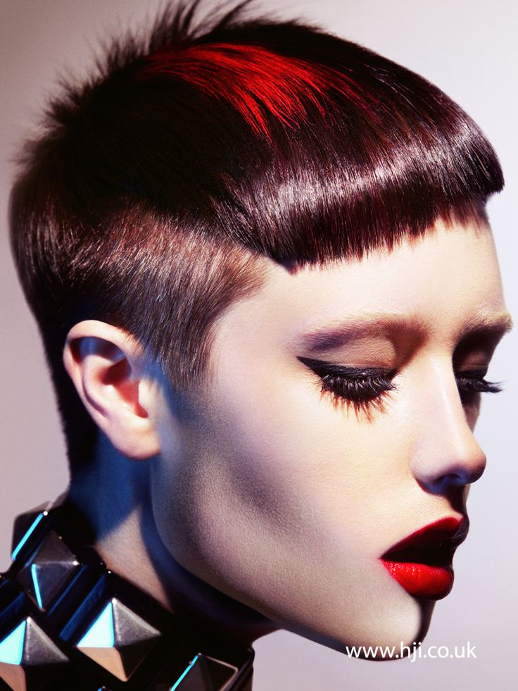 Mark Leeson 2012 British Hairdresser of the Year Finalist