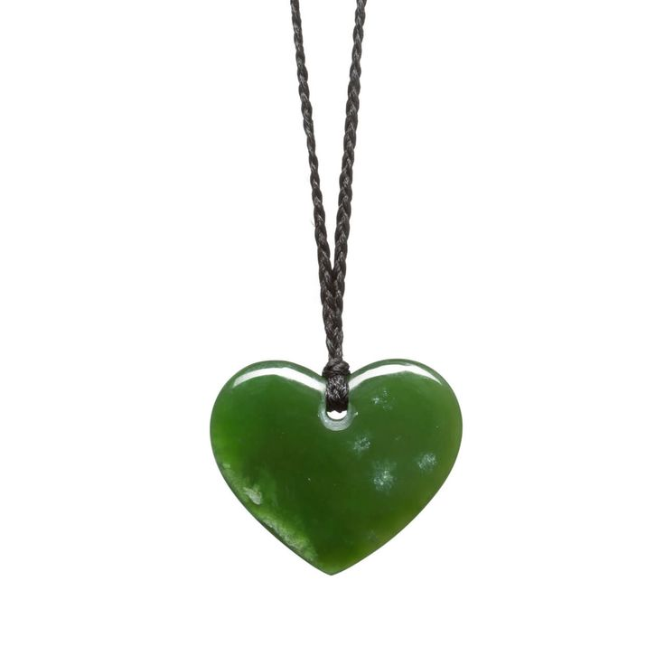 New Zealand Pounamu Small Heart Necklace | Mountain Jade New Zealand