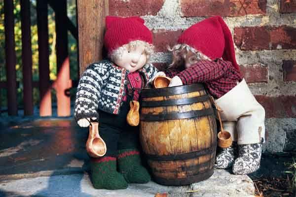 Handmade Norwegian Santa