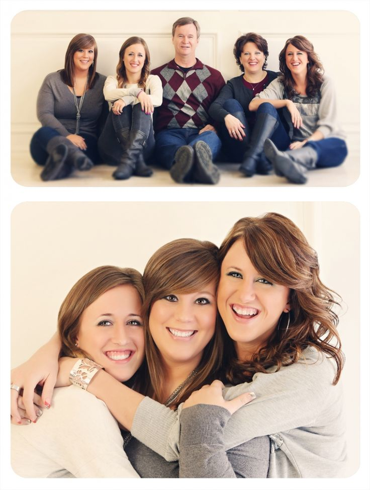 Family And sibling pose. Love this. Excited to open studio to family in 2014 :)