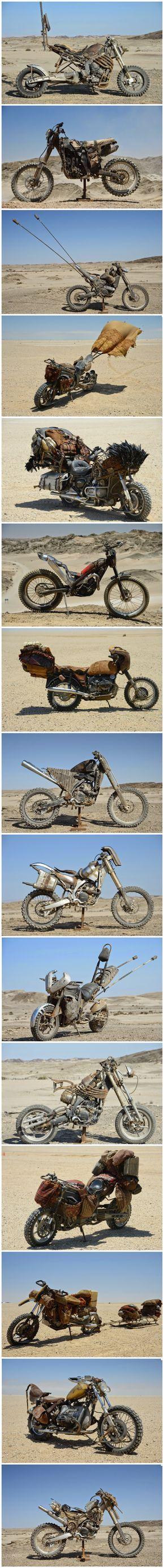Las motocicletas personalizadas de Mad Max: Fury Road - Imgur