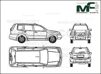 The 236 best nissan blueprints images on pinterest nissan x trail 2001 blueprints ai cdr cdw malvernweather Image collections