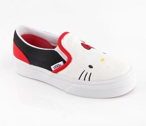 Vans x Hello Kitty Kids Slip-On: Plush