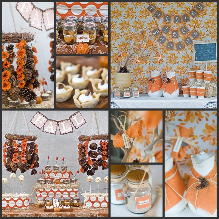 Fall Baby Showers ~ Best fall party themes images on pinterest kitchens