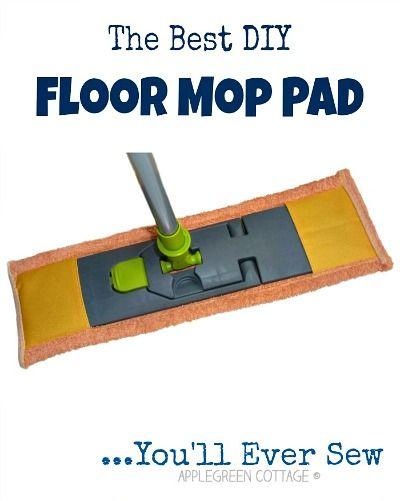 The Best DIY Floor Mop Pad