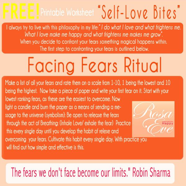 """Self-Love Bites #2  * """"Thoughts became things"""" ~ Mike Dooley  Please do not underestimate this powerful practice; Doing and saying daily visualization and affirmations helps reprogram our negative self-talk so we can manifest positive thinking, feeling and experiences in our lives."""
