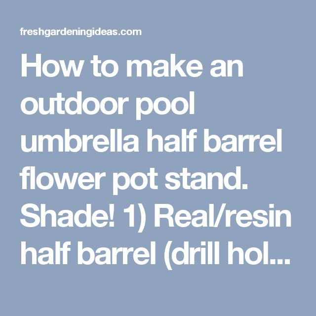 Best 25 Pool Umbrellas Ideas On Pinterest Outdoor