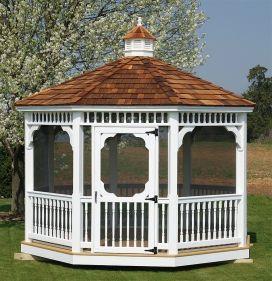 56 best images about gazebos garden bridges waterwheels on for Creative gazebos