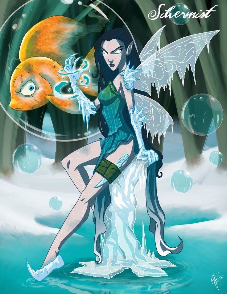 Twisted Fairies: Silvermist by jeftoon01.deviantart.com on @deviantART