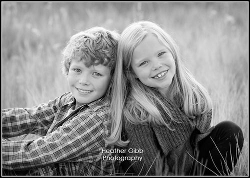 Love this brother and sister picture.