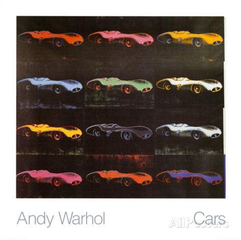 Formula 1 Car, 1954 by Andy Warhol
