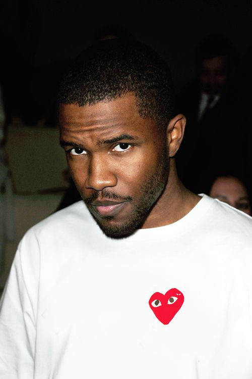 frank ocean in comme des garcons play