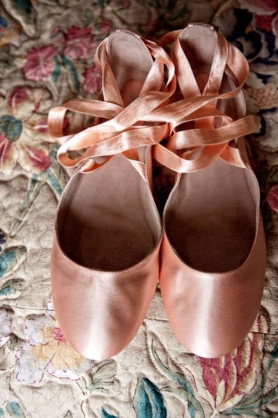 pointe shoes or glamorous flats?