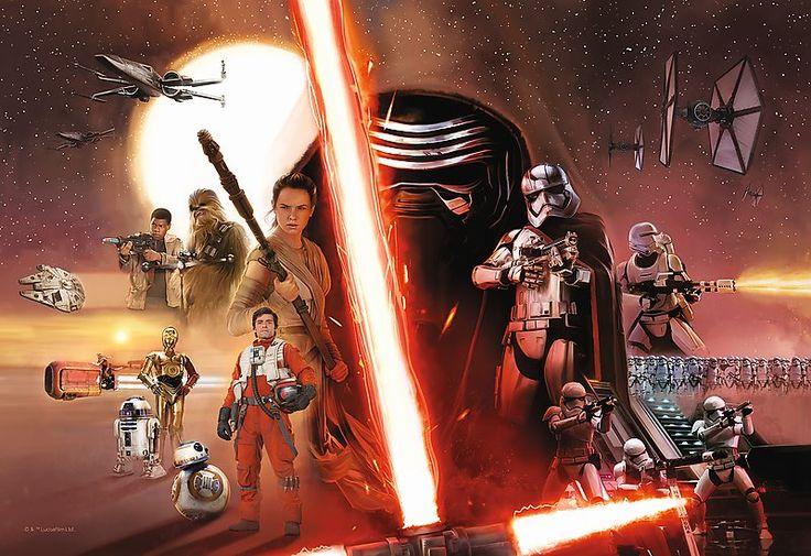 Puzzle pro děti TREFL 100 dílků - Star Wars: Síla se probouzí
