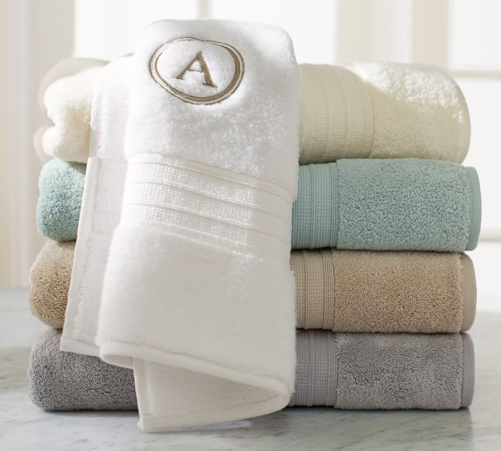 Household Tip: Stock your bathroom with ultra- absorbent (and fluffy) Turkish cotton towels!