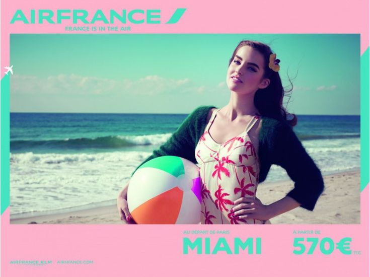 Air France - France is in the air - Miami