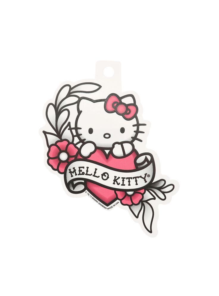 Hello Kitty Tattoo Flash Sticker   Hot Topic