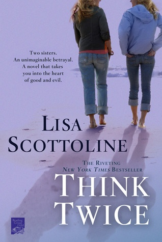 Think Twice. Loved this very fast paced book. A great thriller about twins...one nice, one evil.