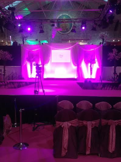 Behind the scenes of the #2014BrideoftheYearAwards #RDS #Powerscourthotel