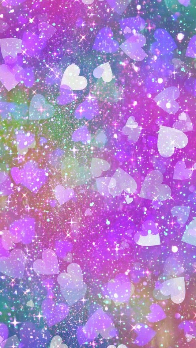 Rainbow Hearts Galore Made By Me Galaxy Color Love Hearts Art Cute Wallpapers Backgrounds Sparkles Gl Wallpaper Backgrounds Wallpaper Cute Wallpapers Colorful love love wallpaper for girls